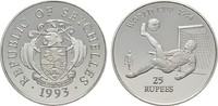 25 Rupees 1993. SEYCHELLEN  Polierte Platte  20,00 EUR  +  6,70 EUR shipping