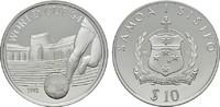 10 Tala 1992. SAMOA ISLANDS  Polierte Platte  20,00 EUR  +  6,70 EUR shipping