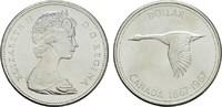 1 Dollar 1967. KANADA Elizabeth II. seit 1952. Stempelglanz -  13,00 EUR  +  6,70 EUR shipping