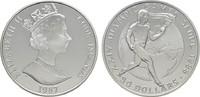 50 Dollars 1987. COOK ISLANDS Elizabeth II. seit 1952. Polierte Platte  20,00 EUR  +  6,70 EUR shipping