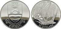 20 Dollars 1992. KIRIBATI Republik. Polier...