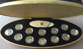12 x 25 Cents 1999. KANADA Elizabeth II. s...
