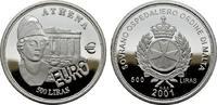 500 Liras 2001. MALTA  Polierte Platte.