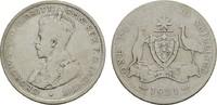 Florin (2 Shillings) 1921. AUSTRALIEN Geor...