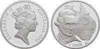 5 Dollars 1993. AUSTRALIEN Elizabeth II. s...