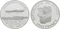 1000 Francs 2000. KONGO Demokratische Repu...