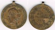 Militärmedaille 1873 Haus Habsburg - Öster...