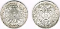 1 Mark 1916 F Kaiserreich Kaiserreich, Kur...