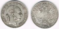 1 Florin (Gulden) 1882 Österreich Franz Jo...