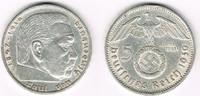 5 Reichsmark 1939 E Drittes Reich Drittes ...