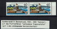 2 Werte 1992 BRD BRD, Mi.-Nr. 1583y F10  2...