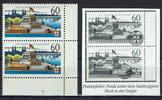 2 Werte 1992 BRD BRD, Mi.-Nr. 1583y F5,25 ...