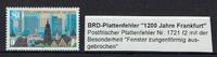 1 Wert 1994 BRD BRD, Mi.-Nr. 1721 F2 1200 ...