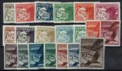 20 Werte 1924 Österreich Österreich, Miche...