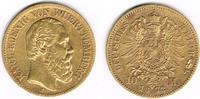 10 Mark 1872 F Deutsches Kaiserreich - Wür...