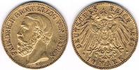 10 Mark 1890 Deutsches Kaiserreich Baden, ...
