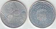 10 Euro 2010 Frankreich 10 Euro Silbergede...