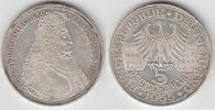 5 DM 1955 BRD Deustchland, 5 DM 1955 G, Ma...