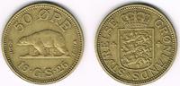 50 Öre 1926 Grönland Grönland 1926, 50 Öre...
