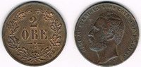 2 Öre 1872 Schweden Schweden 1872, 2 Öre, ...