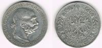 5 Kronen 1907 Österreich Kursmünze 5 Krone...