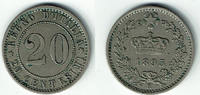 20 Centesimi 1895 Italien Italien 20 Cente...