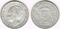 1 Gulden 1931 Niederlande Niederlande, Wil...