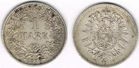 1 Mark 1876 F Kaiserreich Kaiserreich, Kur...