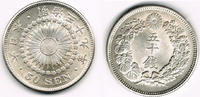 50 Sen 1906 Japan Japan, Kursmünze, 50 Sen...
