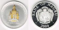 10 Dollars 2003 Bank of Nauru Nauru 2004, ...