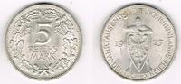 5 Mark 1925 A Weimarer Republik 5 Mark Sil...