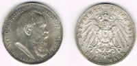 3 Mark 1911 D Bayern Kaiserreich, Bayern 3...