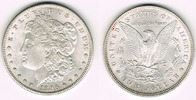 Dollar 1896 USA USA, Morgan Dollar 1896, E...