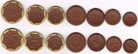 20 Pfennig bis 10 Mark (7 Münzen) 1921 Not...