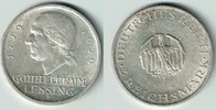 3 Mark 1929 F Weimarer Republik 3 Mark Sil...