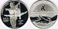 1 Dollar 1995 USA USA, Silber-Gedenkmünze ...