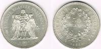 50 Francs 1975 Frankreich Frankreich, Silb...