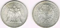 50 Francs 1974 Frankreich Frankreich, Silb...