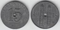 15 Pfennig 1918 Notmünzen / Notgeld Münche...