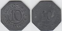 10 Pfennig 1917 Notmünzen / Notgeld Trosin...