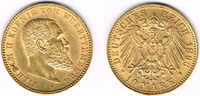 10 Mark 1896 Deutsches Kaiserreich Württem...