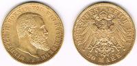 20 Mark 1894 Deutsches Kaiserreich Württem...
