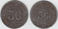 50 Pfennig 1918 Notgeld / Notmünzen Lenggr...