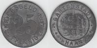 25 Pfennig 1917 Notgeld / Notmünzen Haan G...