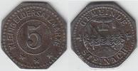 5 Pfennig ohne Jahr Notgeld / Notmünzen St...