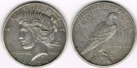 Dollar 1934 USA Peace Dollar 1934, Erhaltu...