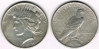 Dollar 1925 USA Peace Dollar 1925, Erhaltu...