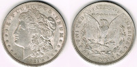 Dollar 1921 USA Morgan Dollar 1921, Erhalt...