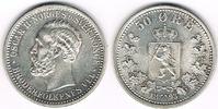 50 Öre 1893 Norwegen Norwegen 1893, 50 Öre...