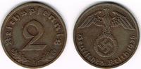 2 Pfennig 1936 F Drittes Reich 3. Reich, 1...